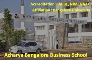 Top B-Schools in Bangalore - ABBS