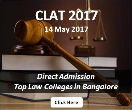 CLAT 2017 Direct Law Admission