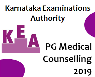 KEA Counselling for PG Medical Courses