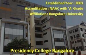 Top B-Schools in Bangalore - Presidency College